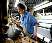 factory worker china