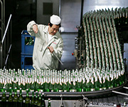 beer factory worker in china