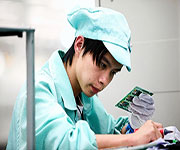 zte factory worker in china