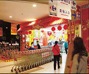 carrefour retail market in china