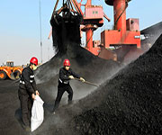 coal workers in china