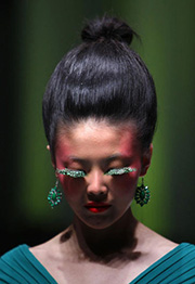 fashion model in china