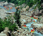 white water rafting in henan province