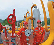 natural gas china