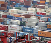 port containers china