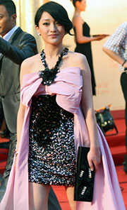 zhao wei on the red carpet