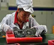 semiconductor worker in china