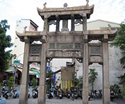 Tainan City Gateway from Qing Dynasty