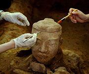 terracotta soldier restoration